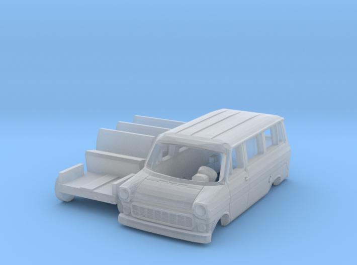 Ford Transit Kleinbus (TT 1:120) 3d printed