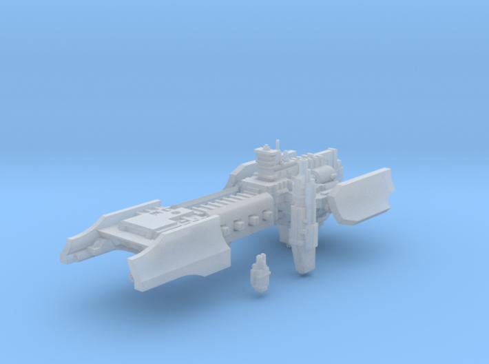 Terran Elite Marine Rapid Response Cruiser 3d printed