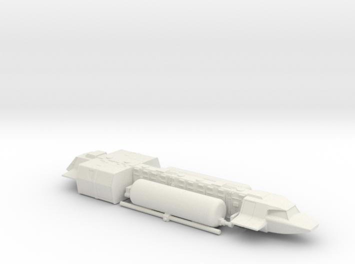 Tanker in Flight (V, The Visitors) 3d printed