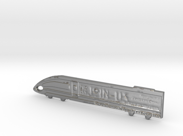 ZWOOKY Style 30 Sample - Train keyring 3d printed