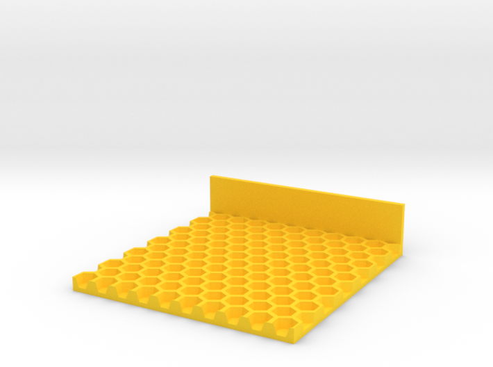 5mm Top Foundation Wax 3d printed