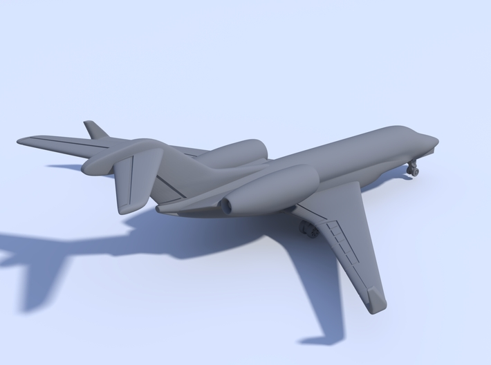 1:500 - Cessna_Citation_X [Sprue] 3d printed