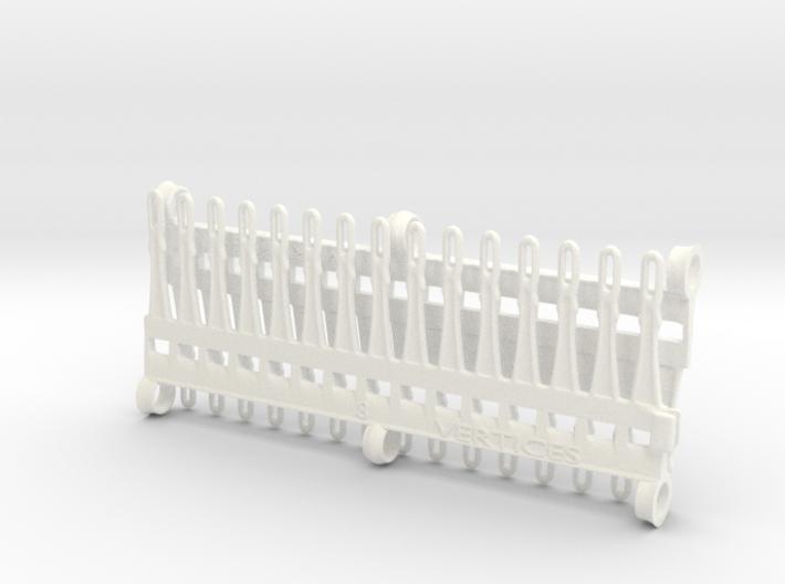 30 tine knitting garter bar X 2 - 8mm v3 3d printed