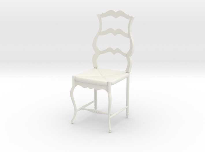 French Chair Pierre Scale 1:24 3d printed