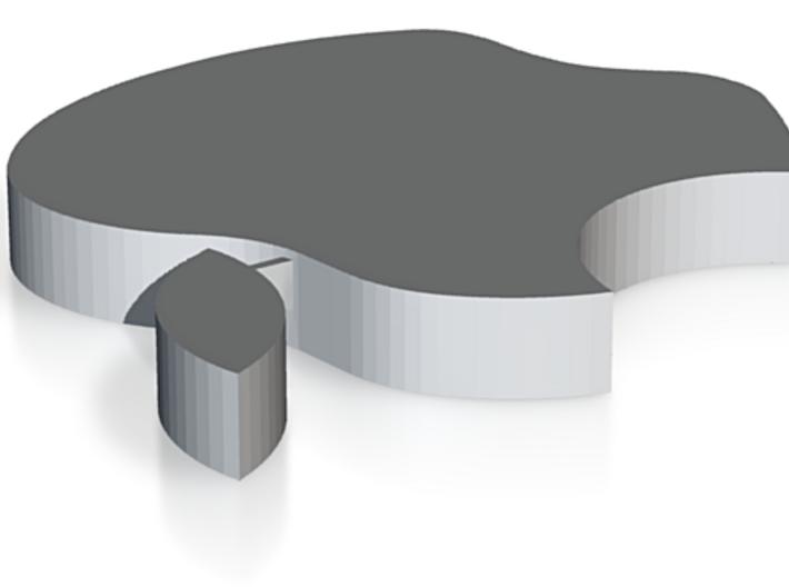 Small Apple Logo 3d printed