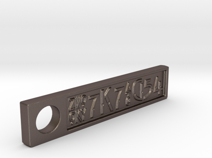 ZWOOKY Style 5 Sample - Keyring 3d printed