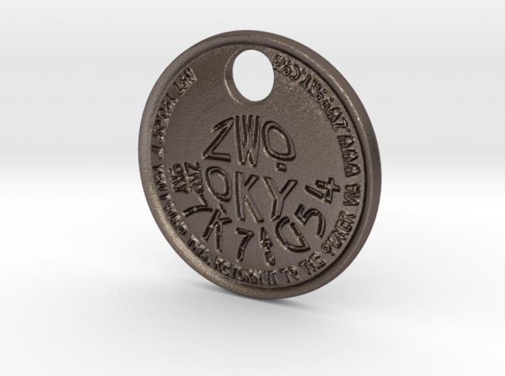 ZWOOKY Style 222 - pendant ZWOOKY 3d printed