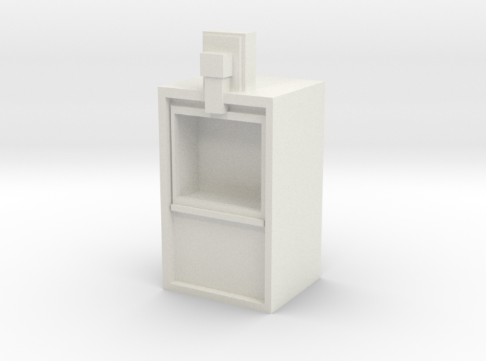 Newspaper rack 1/29 scale 3d printed