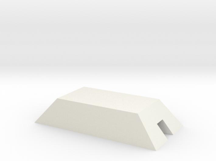 1/350 Concrete Bunker 2 3d printed