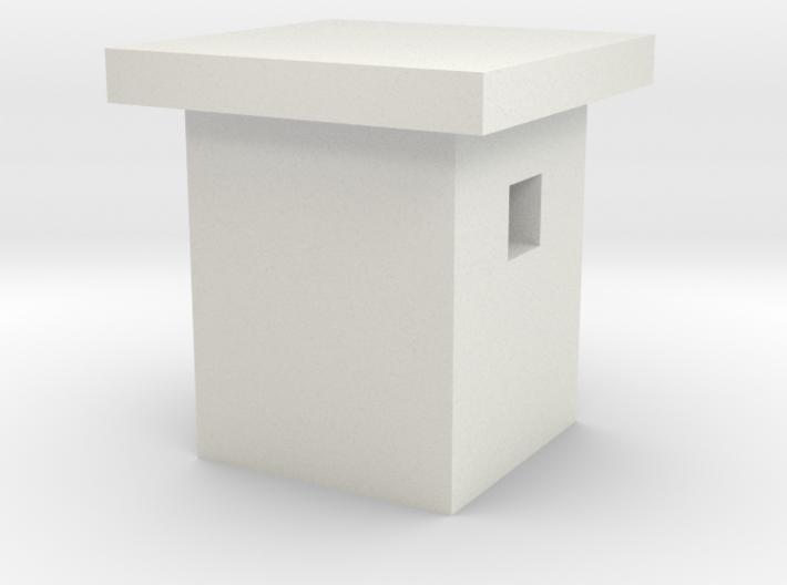 1/350 Concrete Bunker 3 3d printed