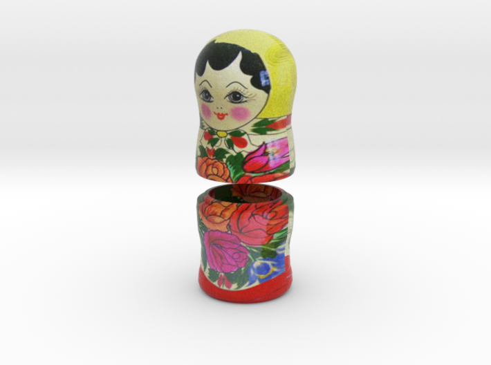 Russian Matryoshka - Piece 6 / 7 3d printed