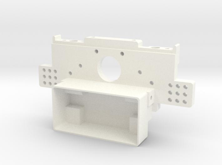 RC10 Rear Bulkhead V2 3d printed