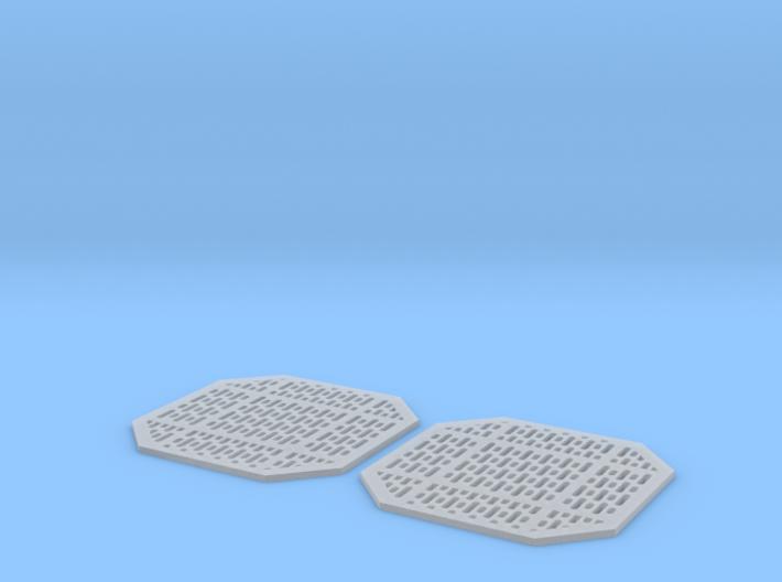 Access Panels 1mm Pair 3d printed