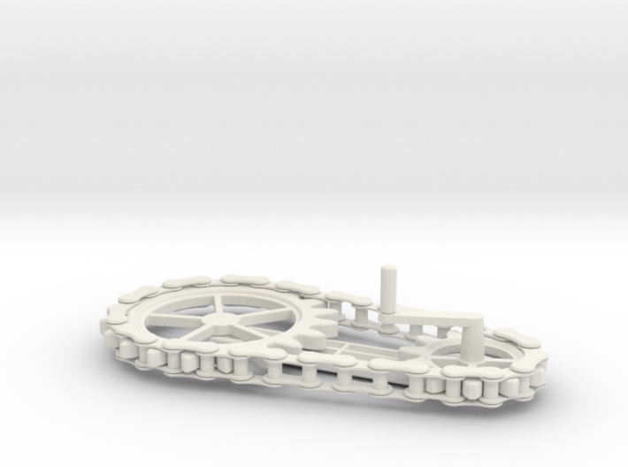 Chain Gear 3d printed