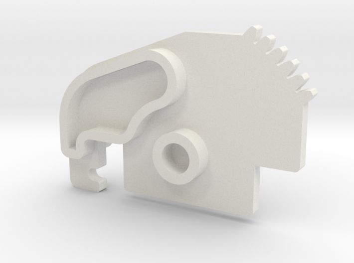 Saitek Rudder Pedals - replacement toe brake cog 3d printed