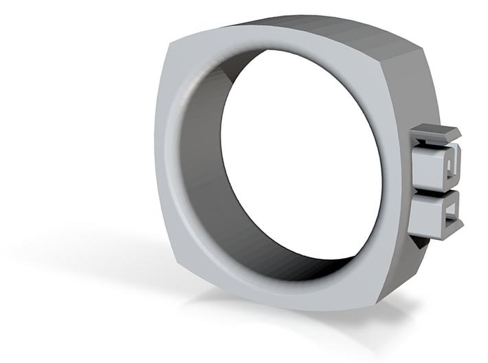 IAD Ring 3d printed