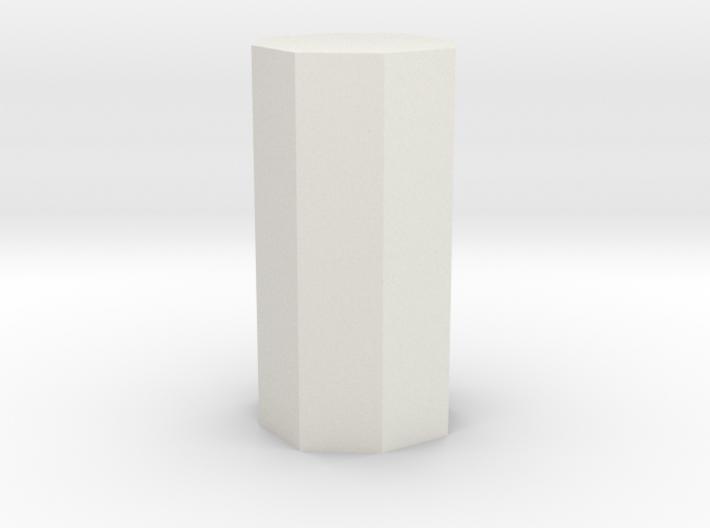 Dihexagonal prism 3d printed