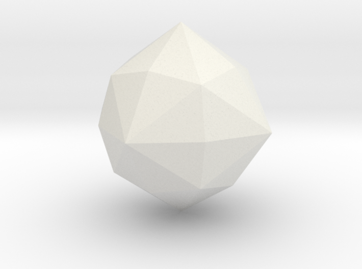 Hexakisoctahedron 3d printed