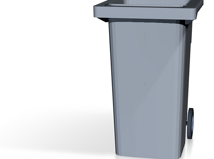 """Variant Garbage Can for 4"""" figures 3d printed"""