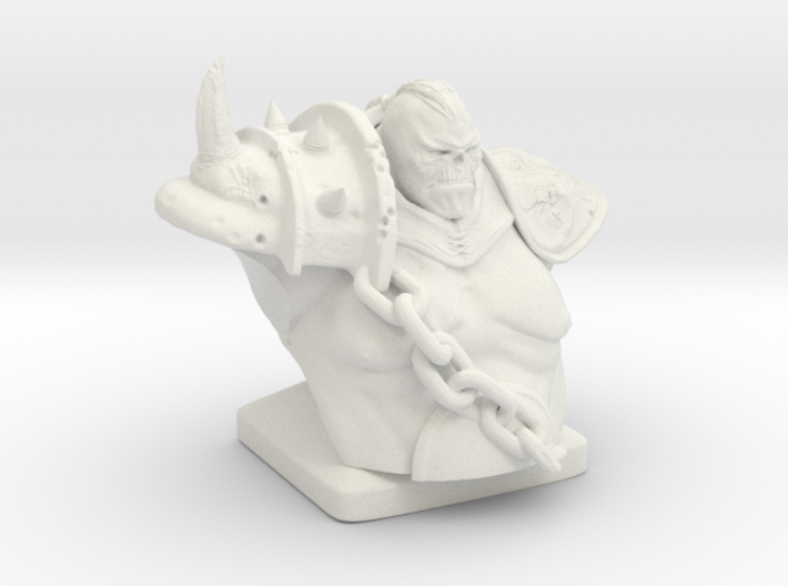 Troll warrior  3d printed