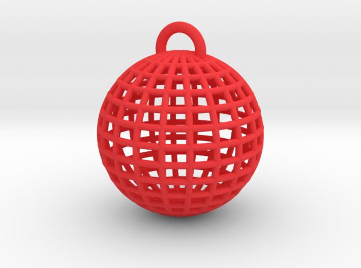 Globe Key Chain 3d printed