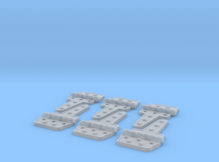 Reefer Hinges 1-20-3 Version-030415 3d printed