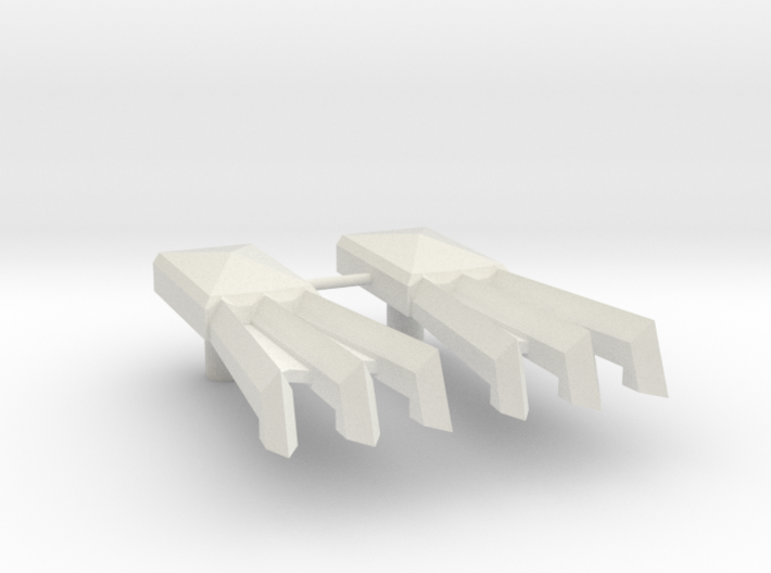 Cybermantium Claws 3d printed