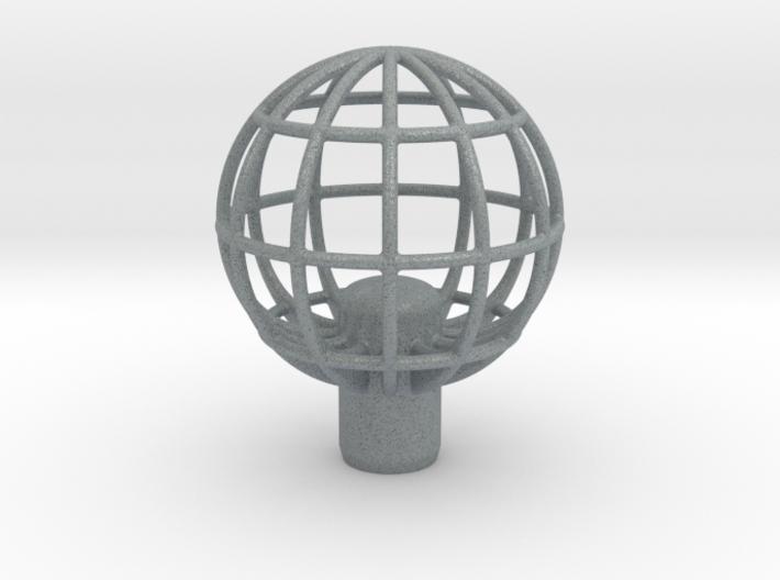 "Shift Knob Globe 12x1.25 2.25"" 3d printed"