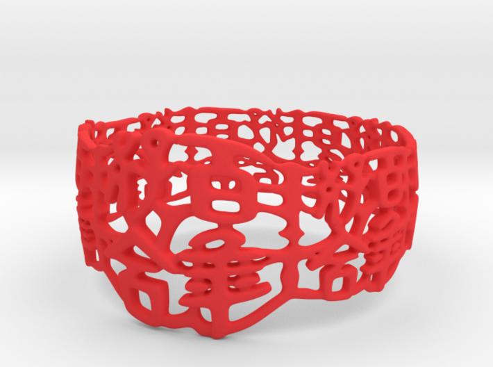 PAN Bracelet D64 RE115s1A10m25M45FR071-plastic 3d printed
