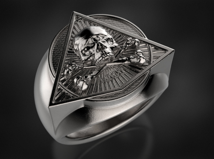 Saint Vitus Ring Size 15 3d printed