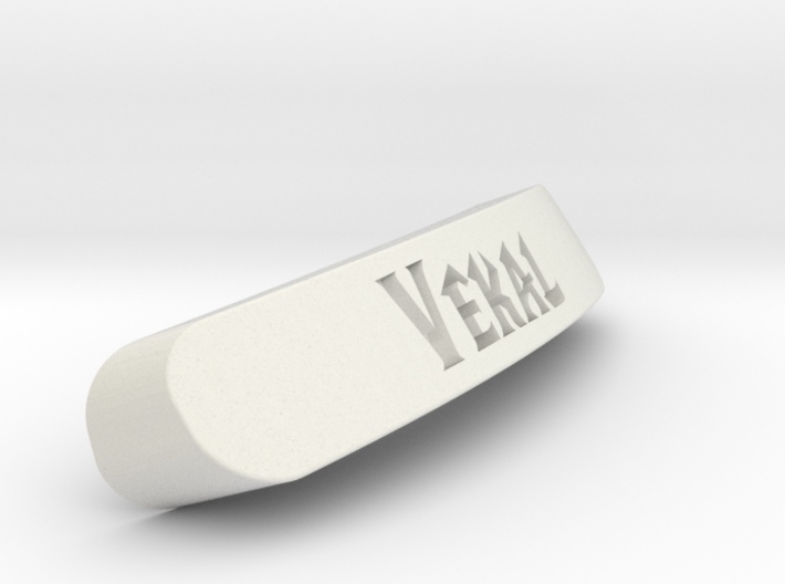 Vekal Nameplate for SteelSeries Rival 3d printed