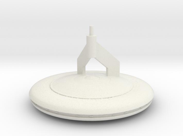V Mothership Display Base v1 (Models to 1/64) 3d printed