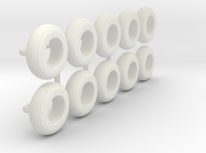 1/64 8.5L-14 Implement Tire 3d printed