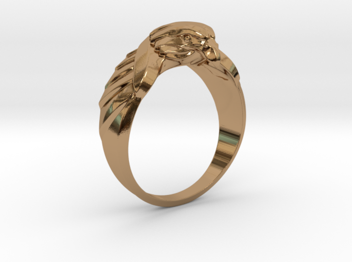 Eagle Ring 19mm 3d printed