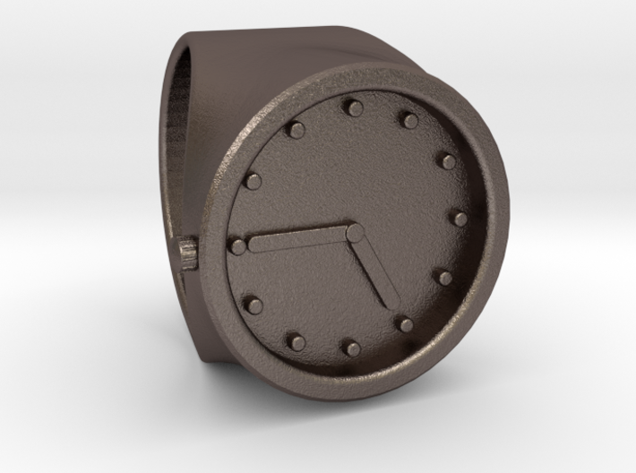 Clock ring size 9.5 3d printed