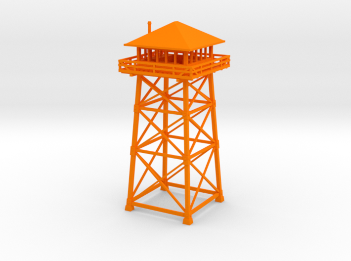 Firewatch Lookout Tower 10cm 3d printed