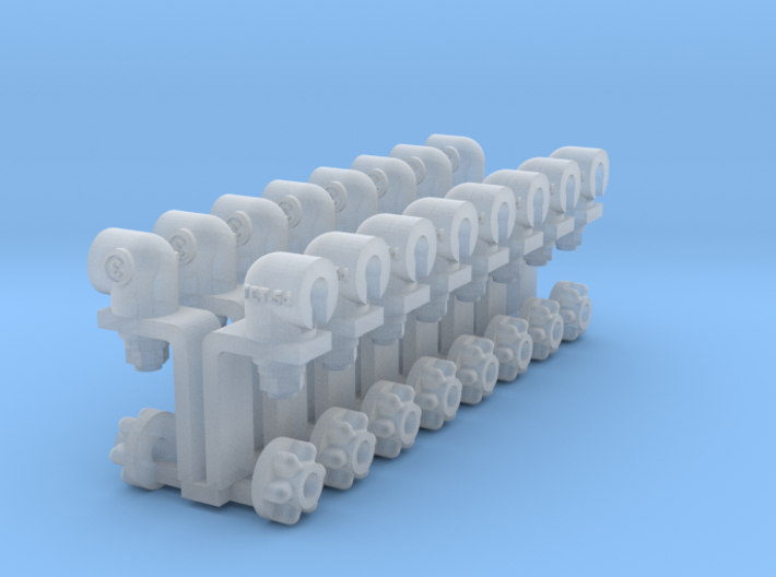 1-16 T55 Set Of 16 Hollow Position Lights 3d printed