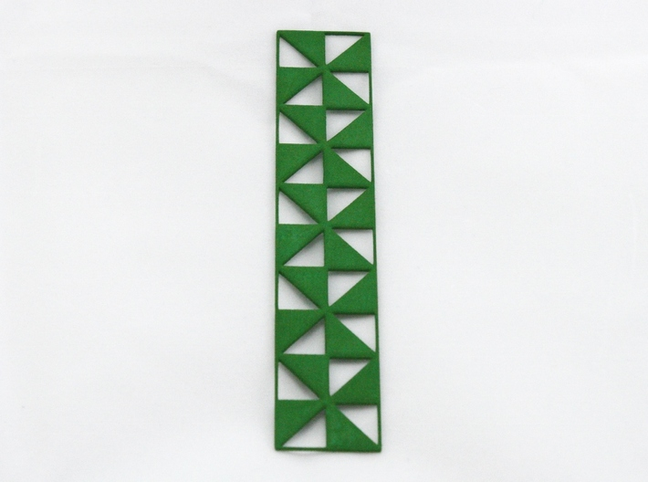 Pinwheel Bookmark 3d printed