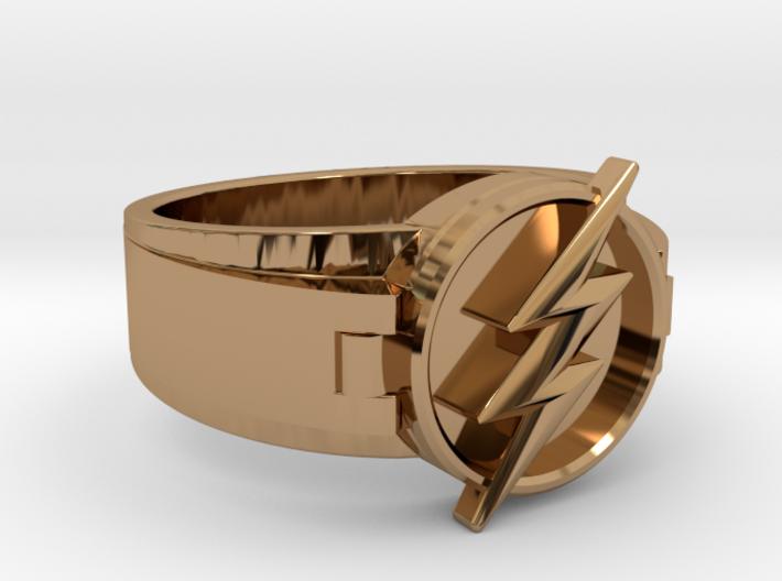 V2 Flash Ring Size 11.5 21.08mm 3d printed