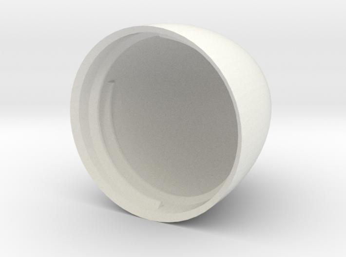 Egg V6 (30mm D x 45mm L) Bottom 3d printed