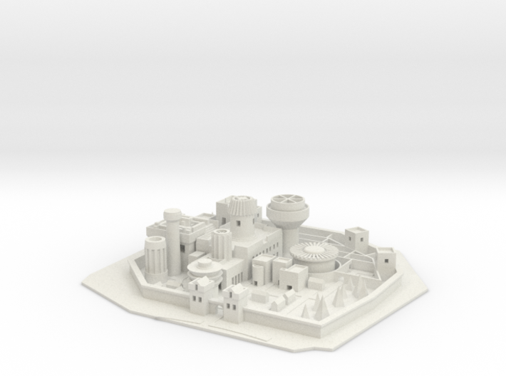 Winterfell GOT (1) 3d printed