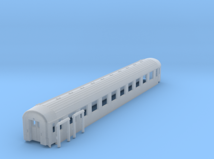 DSB B car TT Scale 3d printed