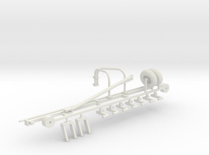 1/64 Hay Rake Frame Kit 3d printed