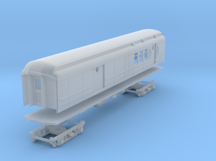 PRR BM70KA Baggage-Mail (shortened)(1/160) 3d printed