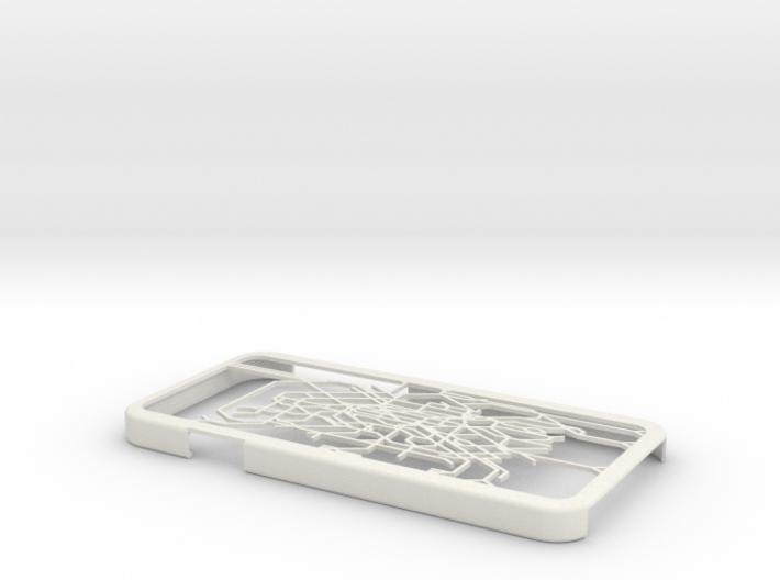 Paris metro map iPhone 6 case 3d printed