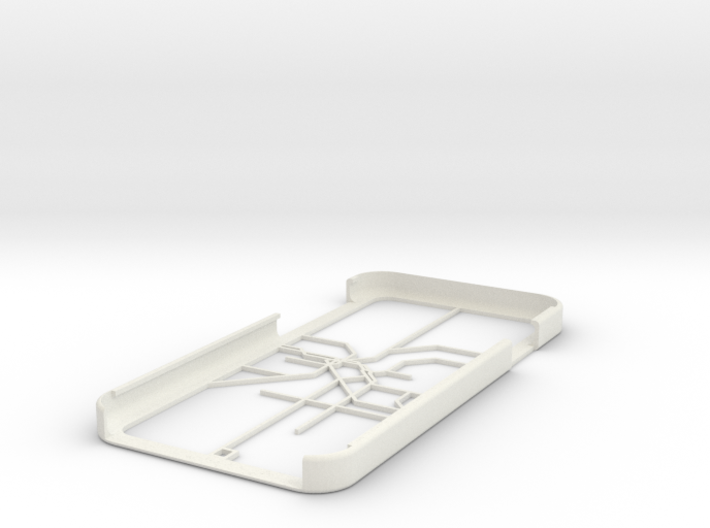 LA Metro Rail map iPhone 6 case 3d printed