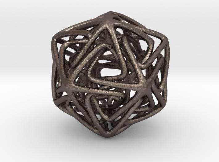 Crystal Star Pendant 3d printed