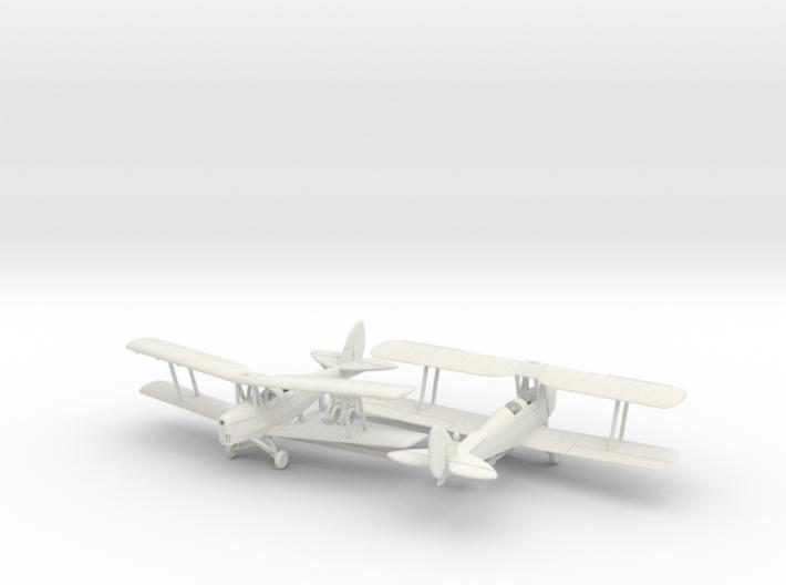 1/144 de Havilland DH82 Tiger Moth x2 3d printed