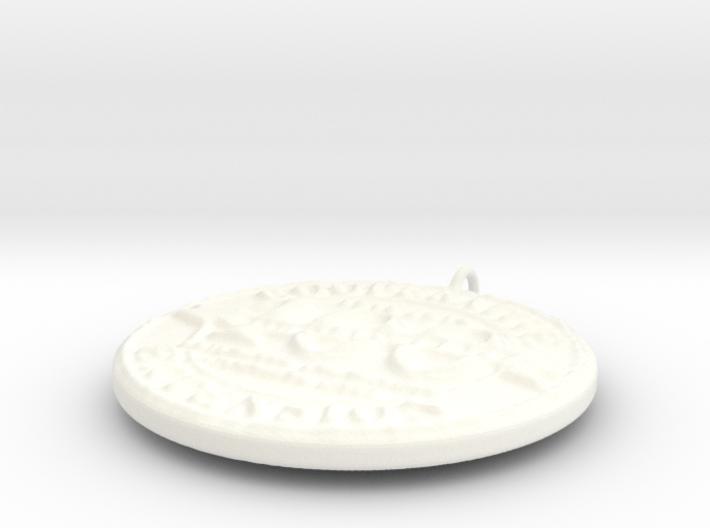 4H Medallion, Large 3d printed