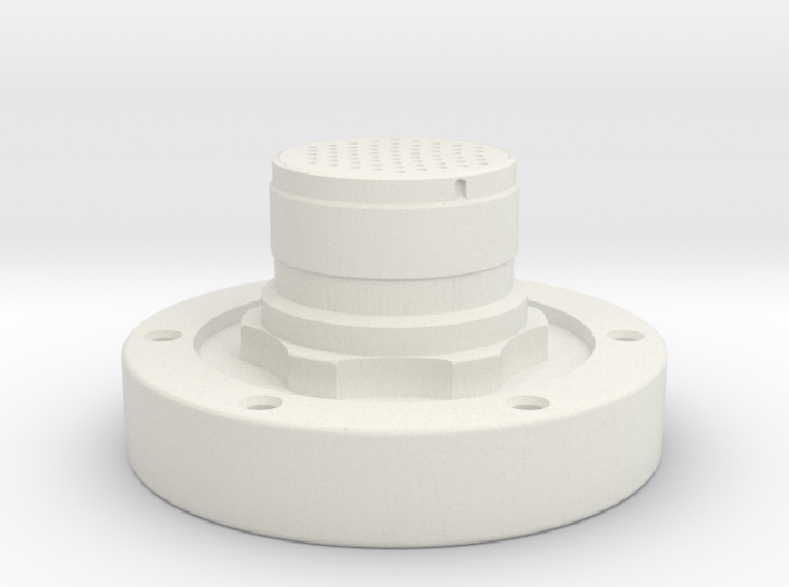 Apollo Scaled Electrical Connector for Revell Man 3d printed